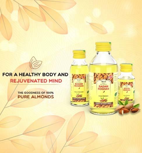 roghan badam almond oil benefits