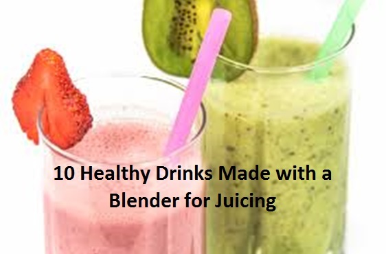 healthy quick drink recipes