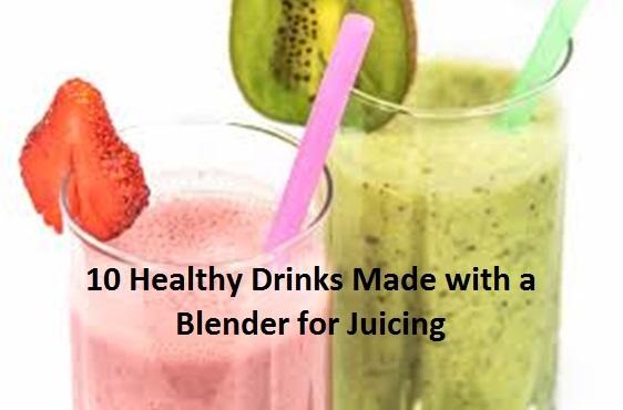 healthy quick drink recipes