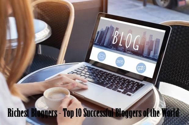 world richest bloggers