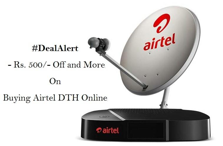 airtel dth recharge offers