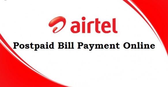 online airtel postpaid payment