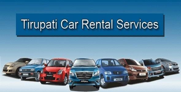 car rental services in tirupati
