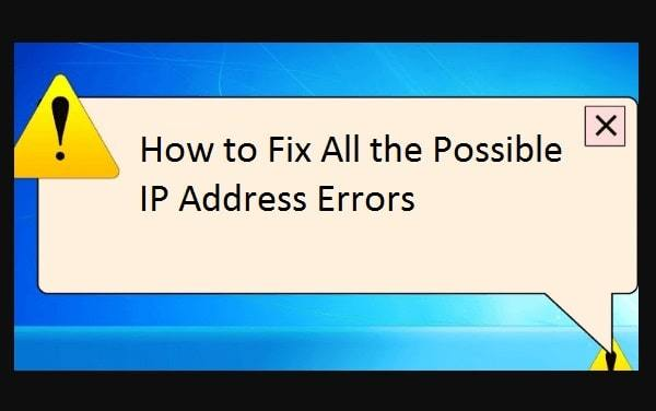 ip address conflict issue