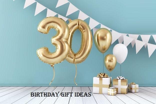 30th birthday gift hamper ideas