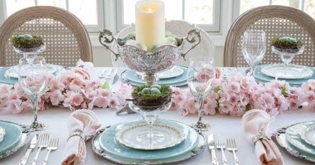 green branches to liven up your table
