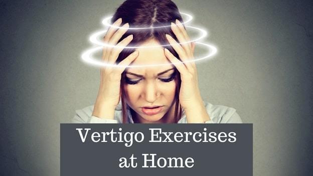 vertigo exercise at home