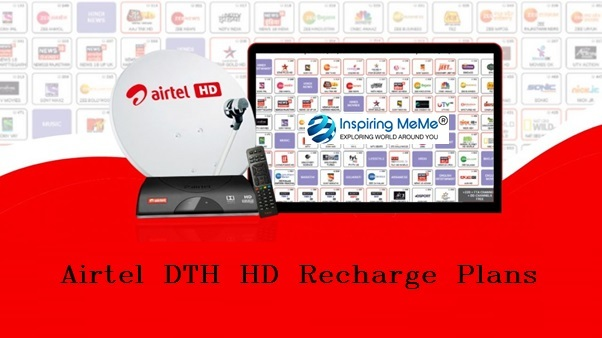 airtel dth hd recharge plans