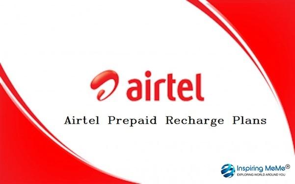 airtel prepaid recharge plans