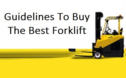 forklift buying guide