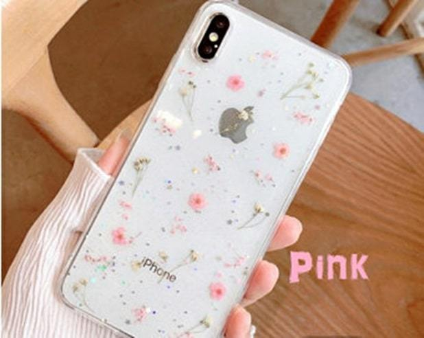 pink color iphone case