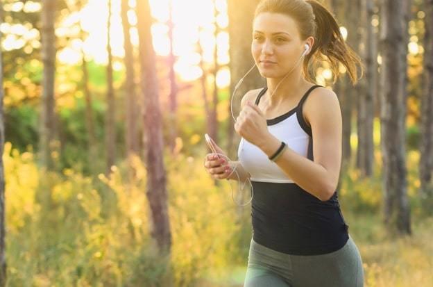 running a girl