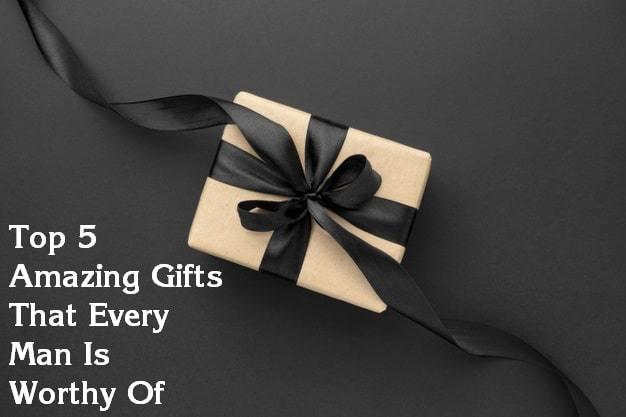 5 gift ideas for men