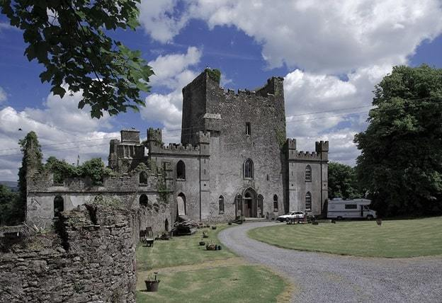 castles of leinster leap offaly