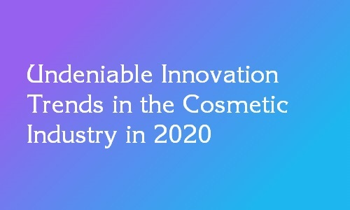cosmetic industry trends