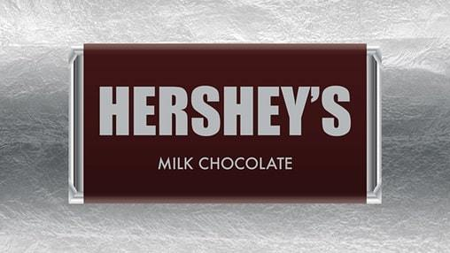 hershey chocolate candy bar