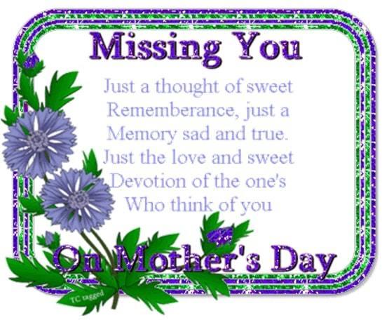 miss you mum image