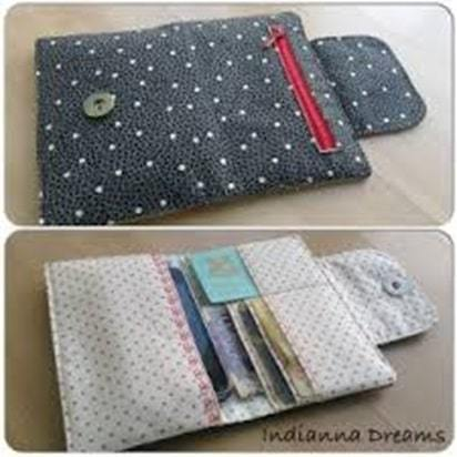personalized handmade wallet