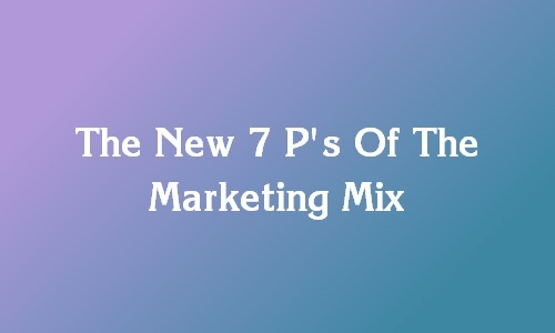 usage of marketing mix