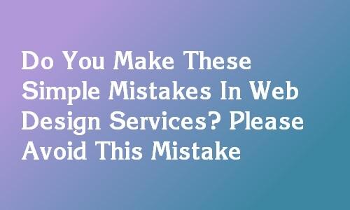 web designing services