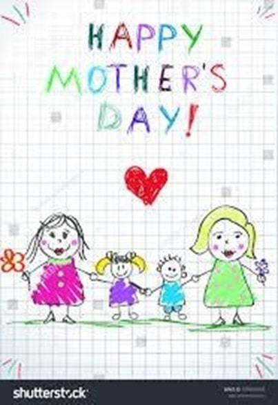 whole family wishing her happy mothers day image
