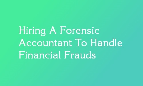 forensic accountant hiring