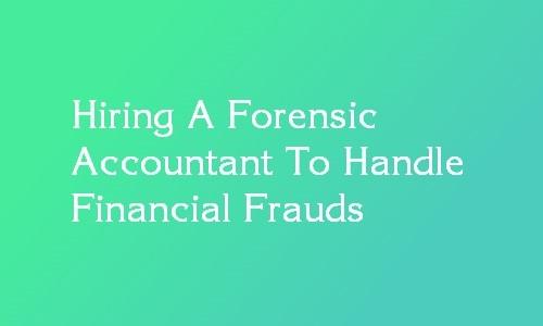forensic accountant hiring