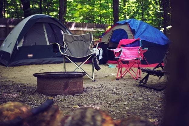picking a camping site