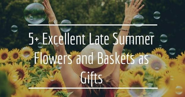 best summer flowers and gift baskets
