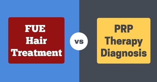 fue vs prp hair transplant