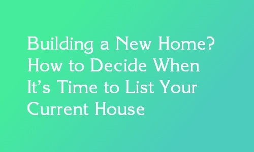 list your current house