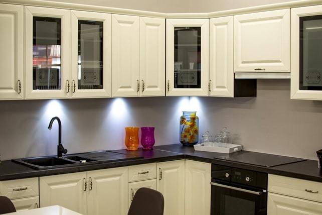restored kitchen