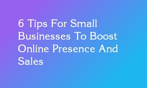 tips to boost online presence