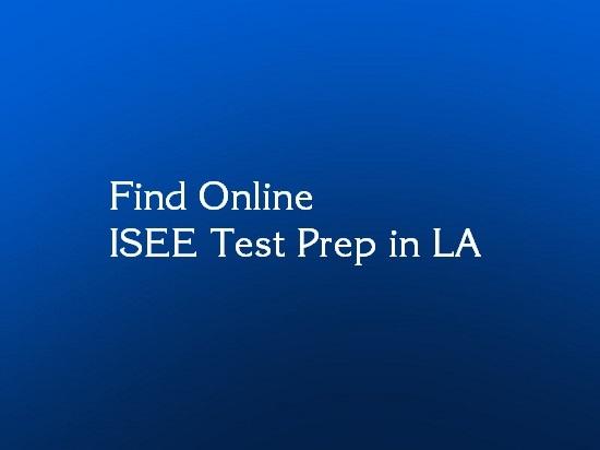 isee test prep online