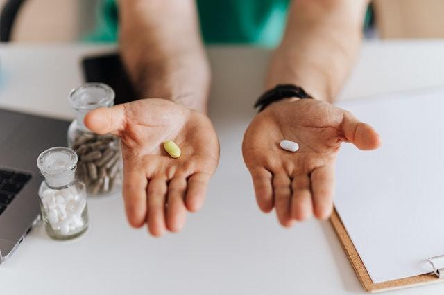 pills in hand real
