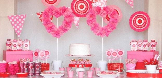 valentines day theme party