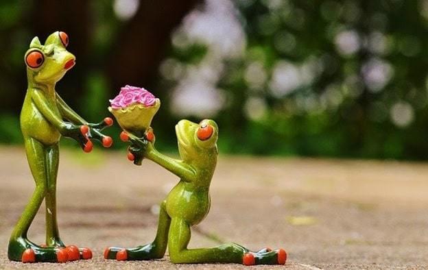 way of romantic proposal