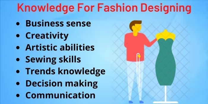 knowledge for fashion designing