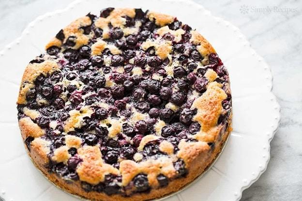 blueberry buttermilk breakfast cake recipe