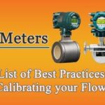 List of The Best Practices for Calibrating your Flow Meter