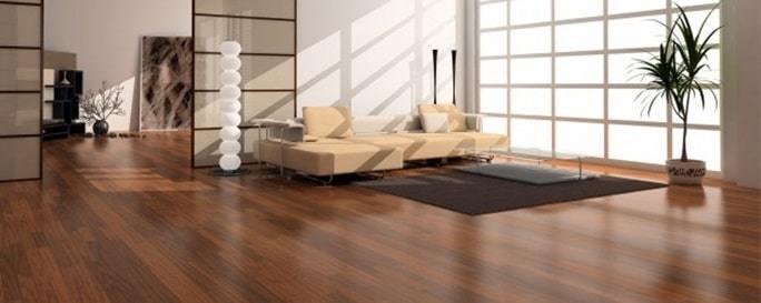 installation of timber flooring