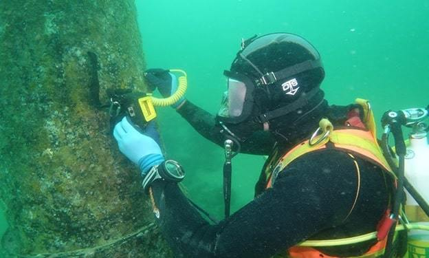 underwater ship inspection