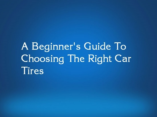 car tire selection guide