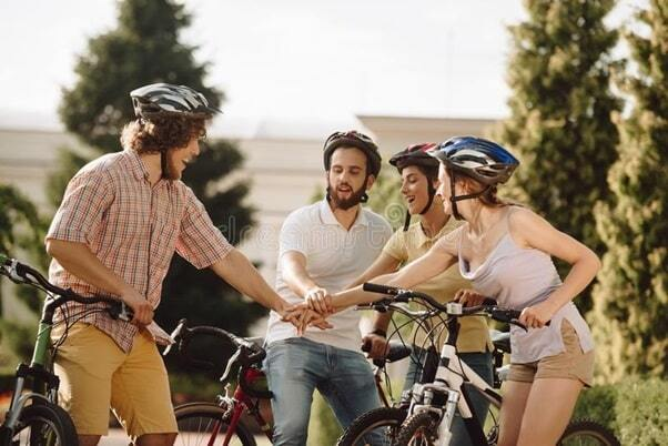 cycling and happiness