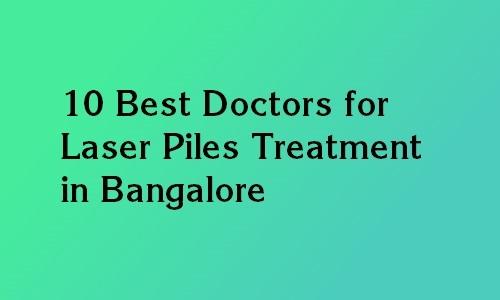 piles laser treatment bangalore