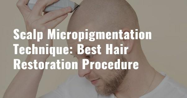 scalp micropigmentation procedure