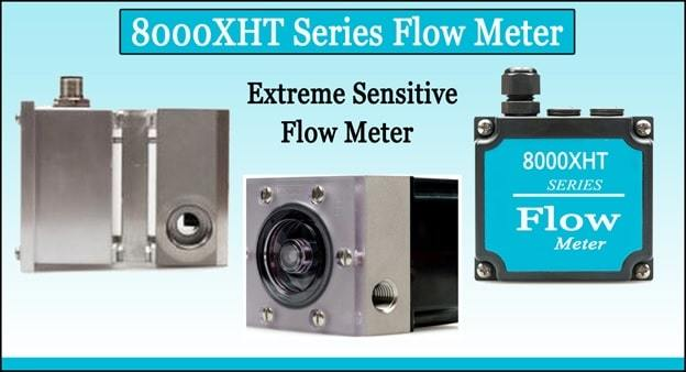 8000xht flow meter