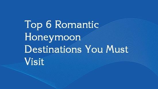 honeymoon destinations outside india