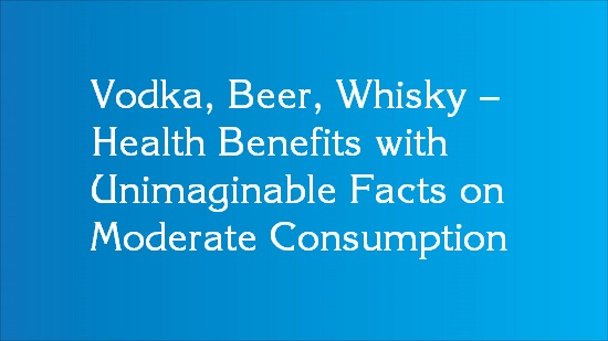 moderate alcohol consumption health benefits