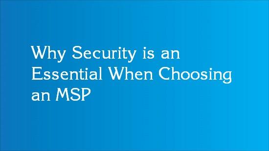 msp selection consideration